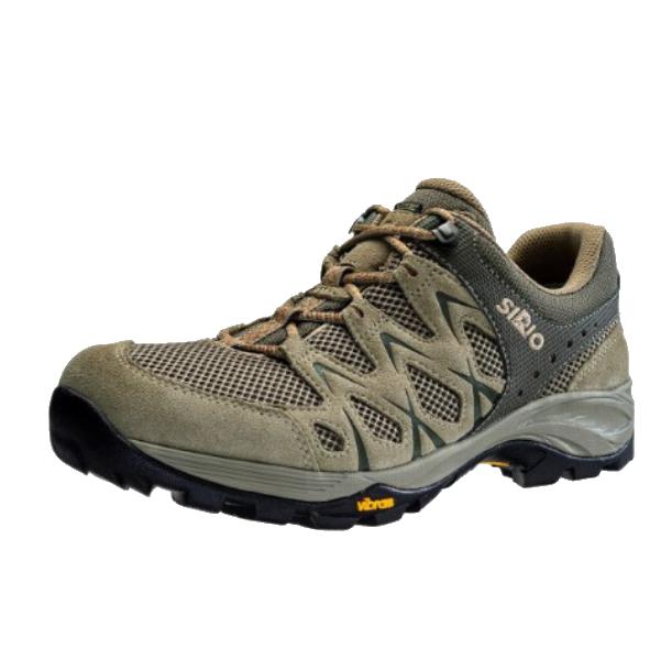 SIRIO シリオ P.F.116-2/BEG/24.5cm PF116-2アウトドアギア アウトドアスポーツシューズ メンズ靴 ウォーキングシューズ ベージュ 男性用 おうちキャンプ