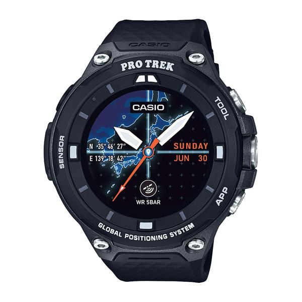 ★エントリーでポイント5倍!CASIO カシオ Smart Outdoor Watch PRO TREK Smart/ブラック WSD-F20-BK