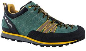 SCARPA(スカルパ) クラックス/ライケングリーン/マスタード/#44 SC21030アウトドアギア ハイキング用 トレッキングシューズ トレッキング 靴 ブーツ