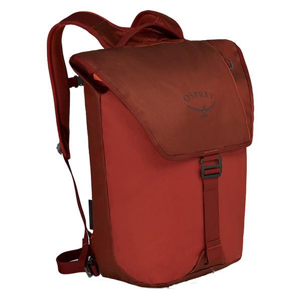 OSPREY オスプレー トランスポーターフラップ/ラフィアンレッド OS54021002001アウトドアギア デイパック バッグ バックパック リュック おうちキャンプ