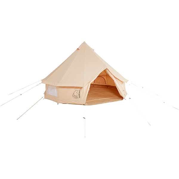 NORDISK(ノルディスク) Asgard 19.6 ORGANIC Cotton 243024アウトドアギア キャンプ大型 キャンプ用テント タープ 八人用(8人用)