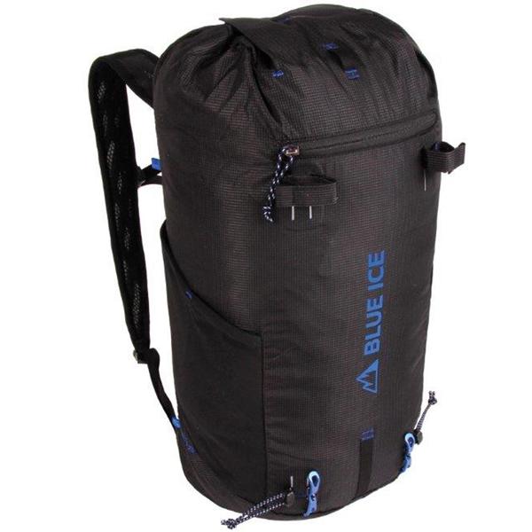 blue ice ブルーアイス ドラゴンフライ2 25L/ブラック 100015アウトドアギア トレッキング20 トレッキングパック バッグ バックパック リュック ブラック おうちキャンプ