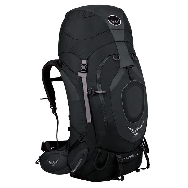 OSPREY オスプレー ジーニス 75/グラファイトグレー/L OS50030アウトドアギア トレッキング大型 トレッキングパック バッグ バックパック リュック グレー ベランピング おうちキャンプ
