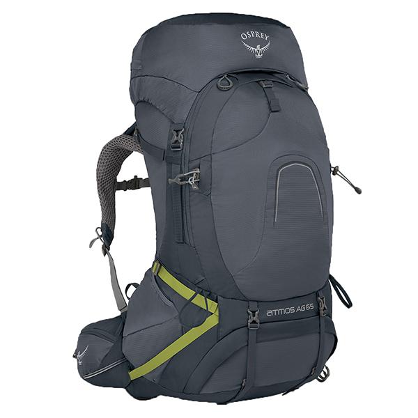 OSPREY オスプレー アトモスAG 65/アビスグレー/L OS50181001006アウトドアギア トレッキング60 トレッキングパック バッグ バックパック リュック グレー 男性用