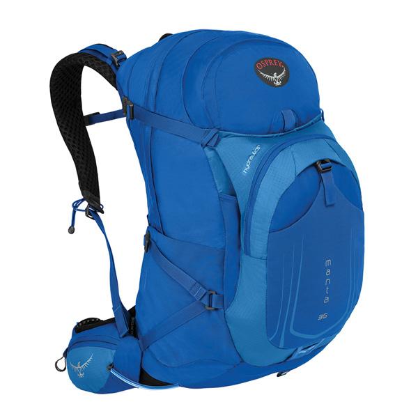 OSPREY オスプレー マンタAG 36/ソニックブルー/M/L OS56030アウトドアギア トレッキング30 トレッキングパック バッグ バックパック リュック ブルー 男性用 おうちキャンプ