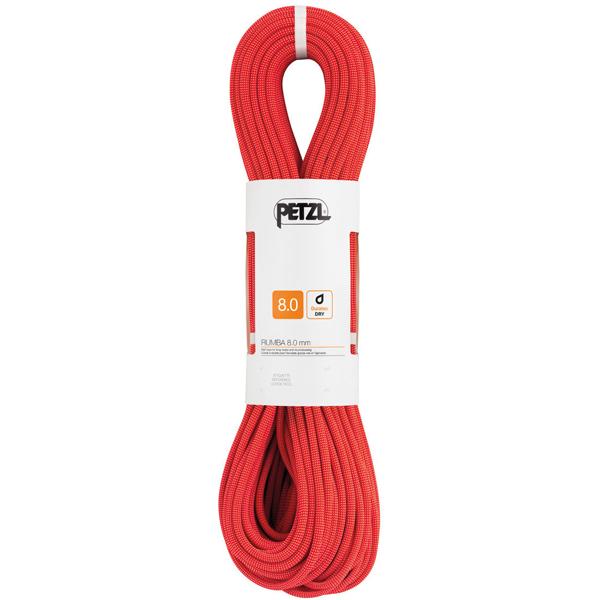 【特別期間ポイント10倍キャンペーン】PETZL ペツル ルンバ 8.0mm/Red/50 R21BR050アウトドアギア ダブルロープ ロープ スポーツ アウトドア レッド ベランピング おうちキャンプ