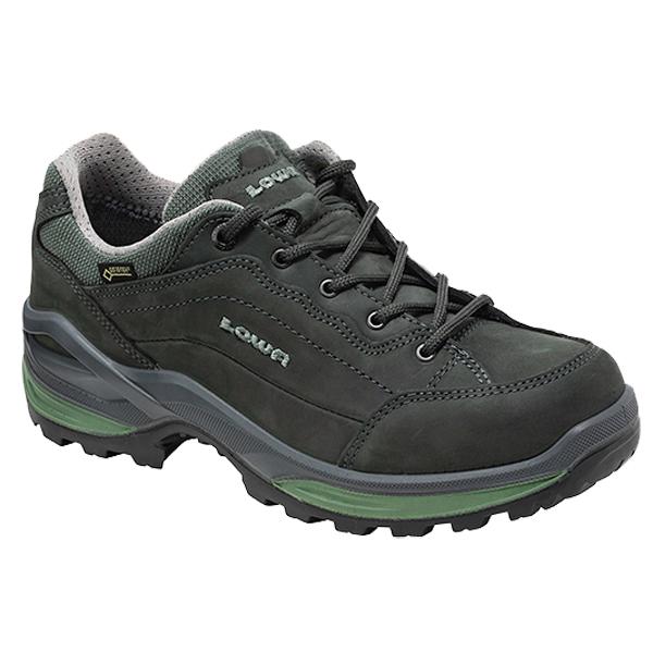 LOWA ローバー レネゲードGT LO WIDEウィメンズ/グラファイト×ジェイド/5 L320967-9781アウトドアギア ウォーキングシューズ女性用 アウトドアスポーツシューズ レディース靴 ウォーキングシューズ