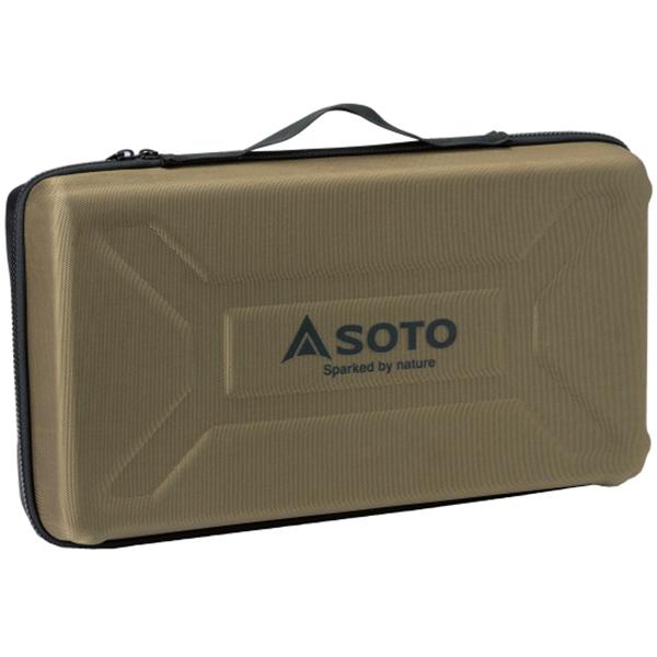 SOTO ソト 新富士バーナー GRID ハードケース ST-5261-6カーキ