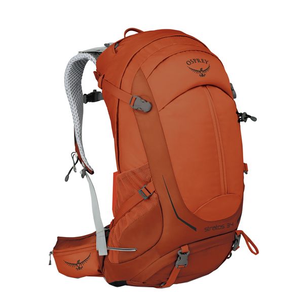 OSPREY オスプレー ストラトス 34/サングレイザーオレンジ/S/M OS50302005004アウトドアギア トレッキング30 トレッキングパック バッグ バックパック リュック オレンジ 女性用 おうちキャンプ
