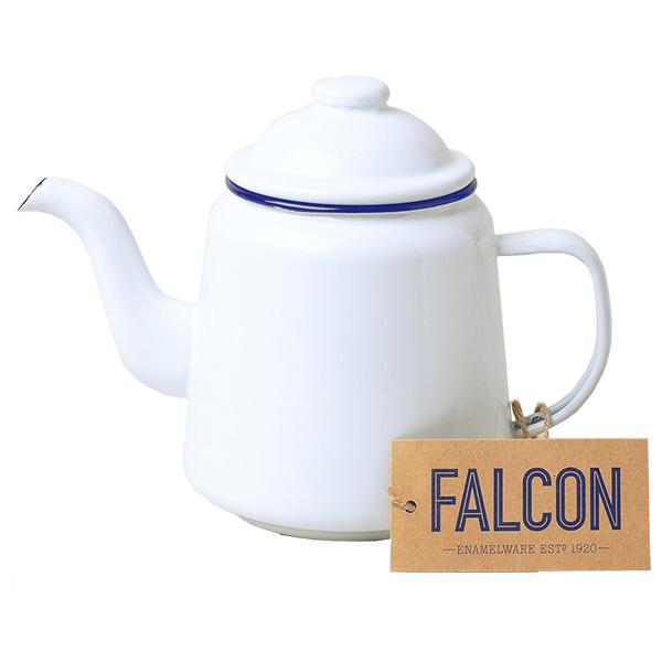 FALCON ファルコン ファルコン エナメルウェア ティーポット ホワイト 7FCTPホワイト