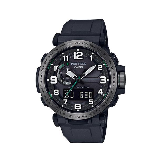 CASIO カシオ PRO TREK/PRW-6600Y-1JF 10552479アウトドアギア 高機能ウォッチ メンズ腕時計 ブラック おうちキャンプ