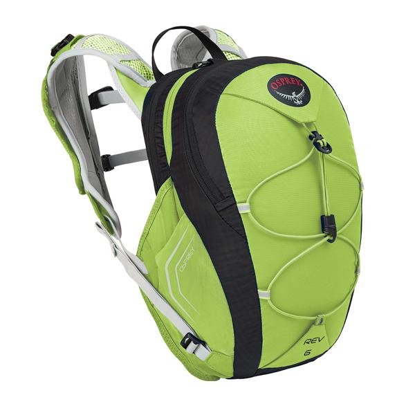 OSPREY オスプレー レブ 6/フラッシュグリーン/S/M OS56092アウトドアギア ハイドレーションパック ハイドレーション アウトドア バッグ おうちキャンプ