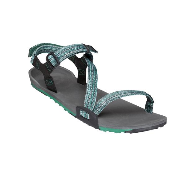 XEROSHOES ゼロシューズ Zトレイル ウィメンズ/チャコールマルチグリーン/W5 TRW-MGRNアウトドアギア 女性用サンダル レディース靴 スポーツサンダル グリーン 女性用