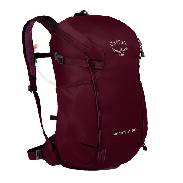 OSPREY オスプレー スキマー 20/プラムレッド/ワンサイズ OS50361001001アウトドアギア トレッキング20 トレッキングパック バッグ バックパック リュック レッド 女性用 おうちキャンプ