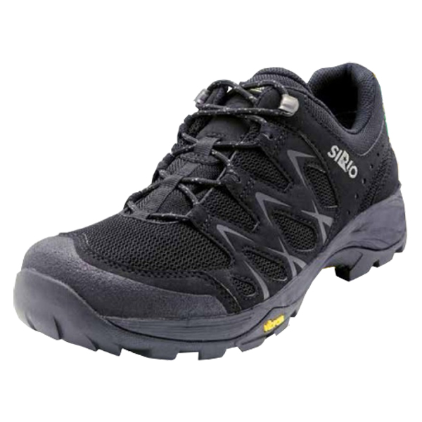 SIRIO シリオ P.F.116-2/BLK/22.5cm PF116-2アウトドアギア アウトドアスポーツシューズ メンズ靴 ウォーキングシューズ ブラック 男性用