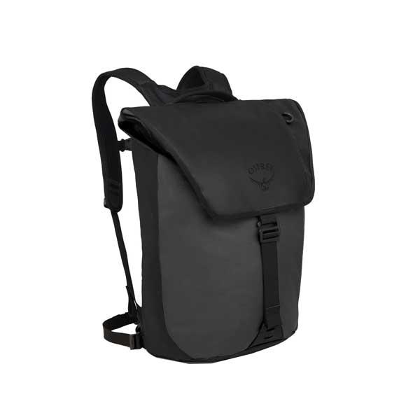 OSPREY オスプレー トランスポーターフラップ/ブラック OS54021001001アウトドアギア デイパック バッグ バックパック リュック ベランピング おうちキャンプ