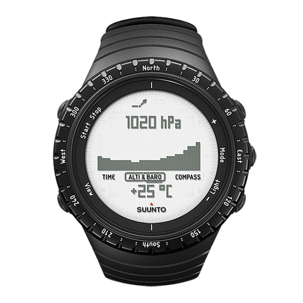 SUUNTO スント [正規品・2年保証]CORE REGULAR BLACK コア レギュラーブラック SS014809000アウトドアギア 高機能ウォッチ メンズ腕時計 おうちキャンプ