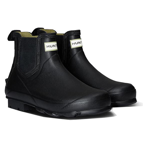 HUNTER(ハンター) メンズ ノリス フィールド チェルシーブーツ/ブラック/UK7 MFS9074RMA男性用 ブラック