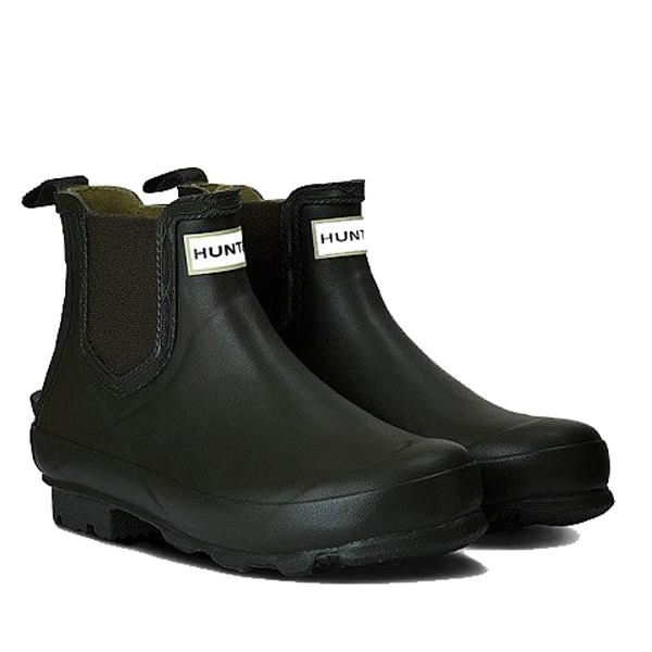 HUNTER(ハンター) メンズ ノリス フィールド チェルシーブーツ/ブラック/UK9 MFS9074RMA男性用 ブラック