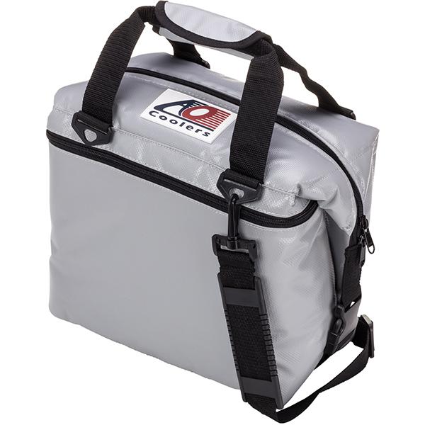 AO Coolers エーオークーラー 12パック ソフトクーラー/シルバー AOFI12SLシルバー