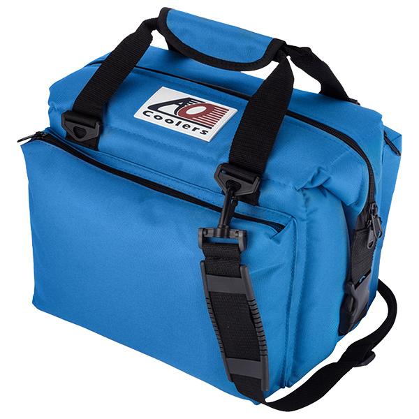 人気が高い  AO Coolers 12パック エーオークーラー 12パック キャンバス AO ソフトクーラー Coolers デラックス/ブルー AO12DXRBブルー, CDメガネのサウンドエース:fd4df89c --- supercanaltv.zonalivresh.dominiotemporario.com