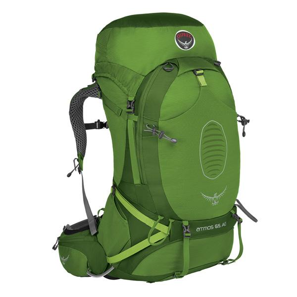 OSPREY オスプレー アトモスAG 65/アブサングリーン/M OS50190アウトドアギア トレッキング70 トレッキングパック バッグ バックパック リュック グリーン 男性用