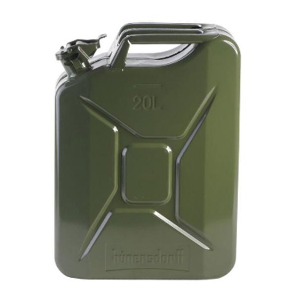 hunersdorff ヒューナースドルフ Metal Kanister CLASSIC 20L olive 434701カーキ