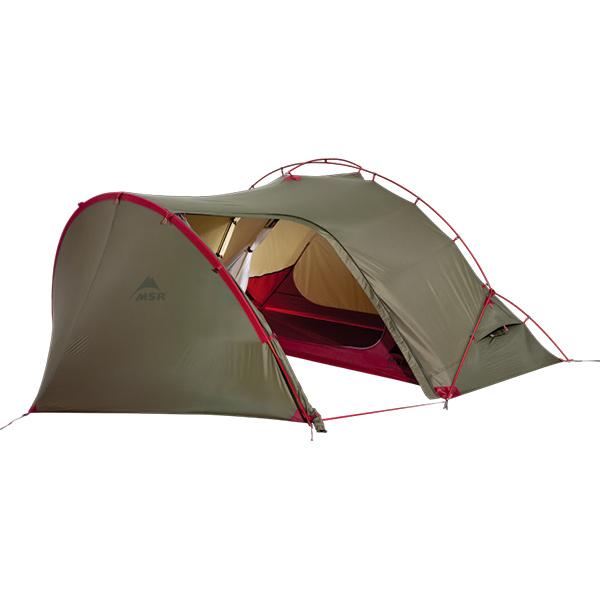 MSR エムエスアール ハバツアー1 ヨーロッパモデル/グリーン 37549アウトドアギア ツーリング用テント タープ 一人用(1人用) グリーン おうちキャンプ