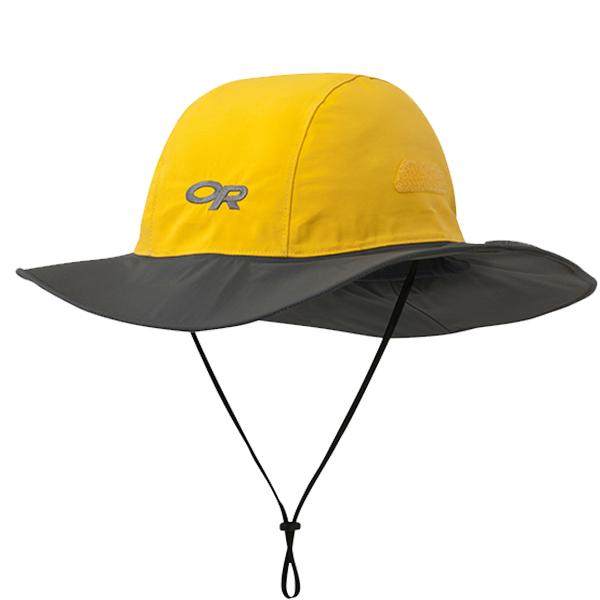 ★エントリーでポイント10倍!Outdoor Research アウトドアリサーチ シアトルソンブレロ/498-YELLOW/DARK GREY/M 19498213アウトドアウェア キャップ・ハット ウェアアクセサリー メンズウェア 帽子