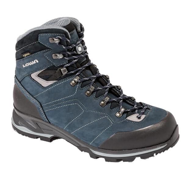 LOWA ローバー サンティアゴGT/ネイビー×グレー/10 L210608-6930アウトドアギア トレッキング用 トレッキングシューズ トレッキング 靴 ブーツ 男性用 おうちキャンプ