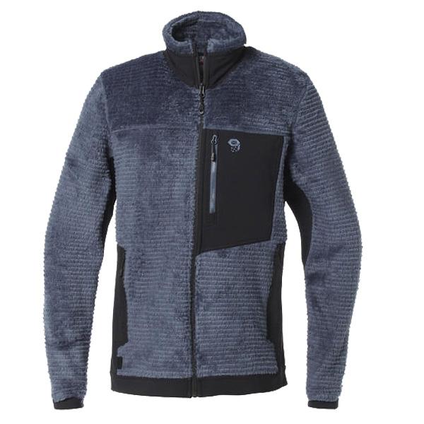 Mountain Hardwear(マウンテンハードウェア) MONKEYMANFLEE/492/M OM7995男性用 グレー アウター メンズウェア ウェア フリースジャケット フリースジャケット男性用 アウトドアウェア