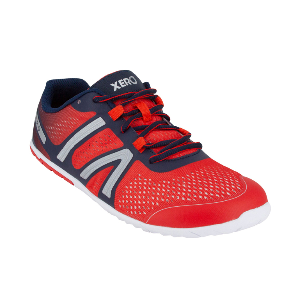 XEROSHOES ゼロシューズ エイチエフエス メンズ/クリムゾンネイビー/M9.5 HFM-CRNアウトドアギア スニーカー・ランニング アウトドアスポーツシューズ トレッキング 靴 ブーツ 男性用 おうちキャンプ