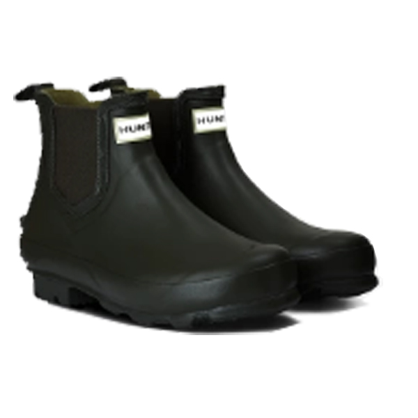 HUNTER(ハンター) ウィメンズ ノリス チェルシーブーツ/オリーブ/UK3 WFS2003RMAアウトドアウェア レインブーツ レディース靴 レインシューズ グリーン 女性用
