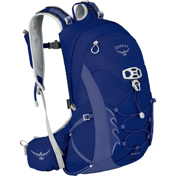 OSPREY オスプレー テンペスト 9/アイリスブルー/S/M OS50265004004アウトドアギア トレッキング小型 トレッキングパック バッグ バックパック リュック ブルー 女性用 おうちキャンプ