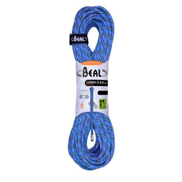 BEAL ベアール 8.6mm コブラ2 ユニコア 50m ゴールデンドライ/ブルー BE11030ブルー