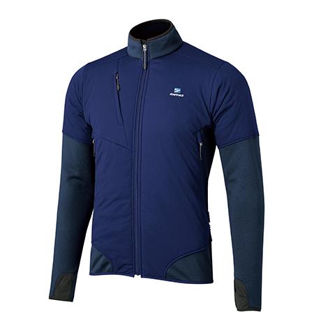 finetrack ファイントラック ドラウトポリゴン3アッセントジャケット/Ms/MB/S FMM0905男性用 ブルー