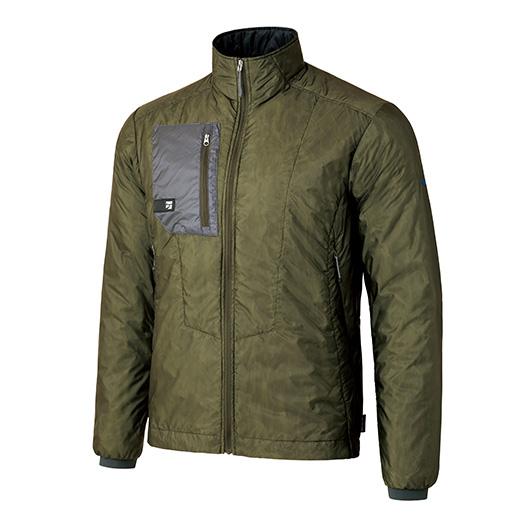 finetrack ファイントラック MENSポリゴン2ULジャケット/OD/S FIM0301アウトドアウェア ジャケット 中綿入り男性用 ジャケット 中綿入り メンズウェア アウター グリーン おうちキャンプ