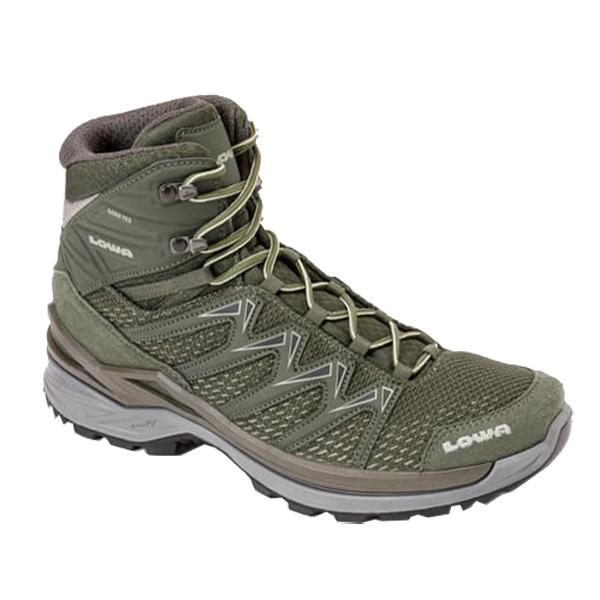 LOWA ローバー イノックス プロGT MID/オリーブ/10 L310703-0748アウトドアギア ハイキング用 トレッキングシューズ トレッキング 靴 ブーツ おうちキャンプ