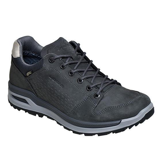 LOWA ローバー ロカルノGT LO/アンスラサイト/7H L310812-0937-7Hアウトドアギア アウトドアスポーツシューズ メンズ靴 ウォーキングシューズ 男性用 おうちキャンプ