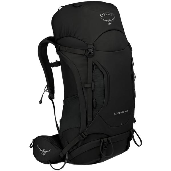 OSPREY オスプレー ケストレル 48/ブラック/S/M OS50140001004アウトドアギア トレッキング40 トレッキングパック バッグ バックパック リュック ブラック 男性用 おうちキャンプ