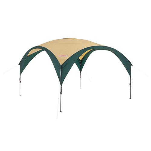 Coleman コールマン パーティーシェードDX/300 グリーン/ベージュ 2000033122アウトドアギア ヘキサ・ウイング型タープ テント ベランピング おうちキャンプ
