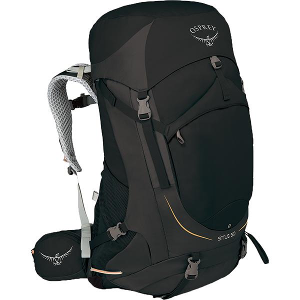 OSPREY オスプレー シラス 50/ブラック/S/M OS50310女性用 ブラック