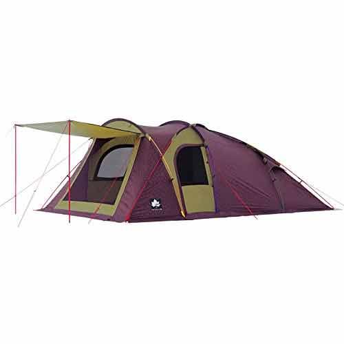OUTDOOR LOGOS ロゴス プレミアム リンクベースドーム XL-AG 71805516アウトドアギア キャンプ大型 キャンプ用テント タープ 五人用(5人用) パープル おうちキャンプ