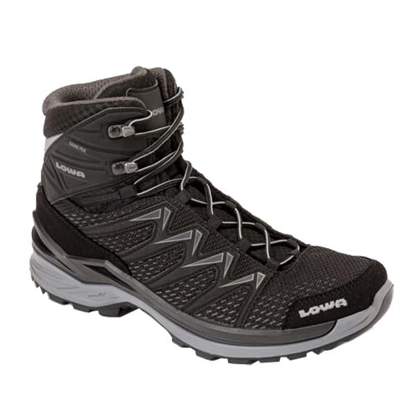 LOWA ローバー イノックス PRO GT MID/ブラック×グレー/9H L310703-9930アウトドアギア ハイキング用 トレッキングシューズ トレッキング 靴 ブーツ おうちキャンプ