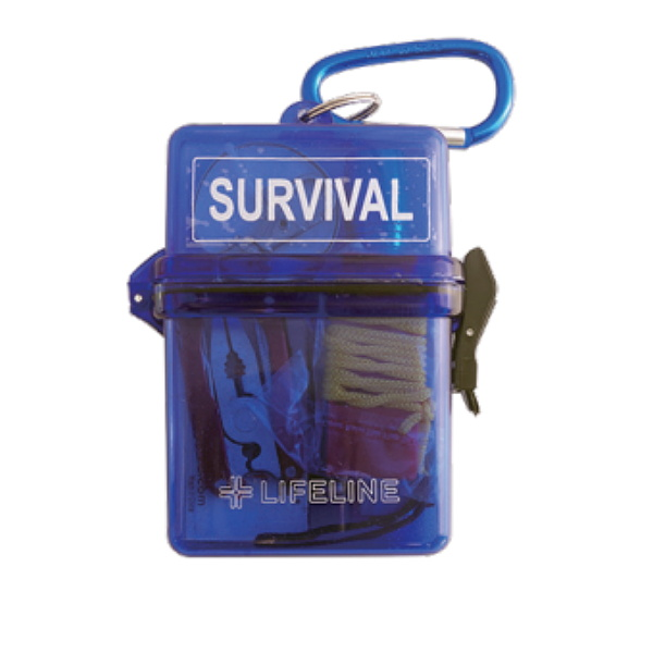 LIFELINE ライフライン サバイバルBOX ブルー LF-0046