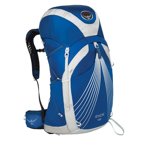 OSPREY オスプレー エクソス 48/パシフィックブルー/L OS50346アウトドアギア トレッキング50 トレッキングパック バッグ バックパック リュック ブルー 男性用