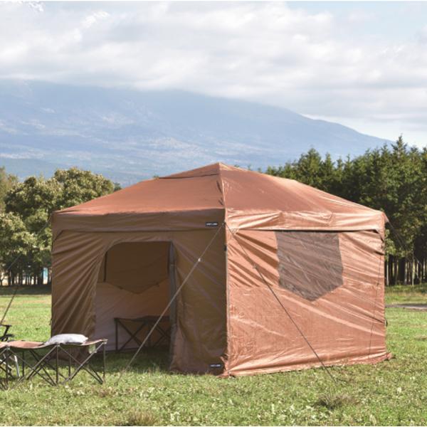 UNIFLAME ユニフレーム REVOベースサイドウォール300 681794アウトドアギア サイドウォール テントオプション タープ テントアクセサリー ブラウン おうちキャンプ