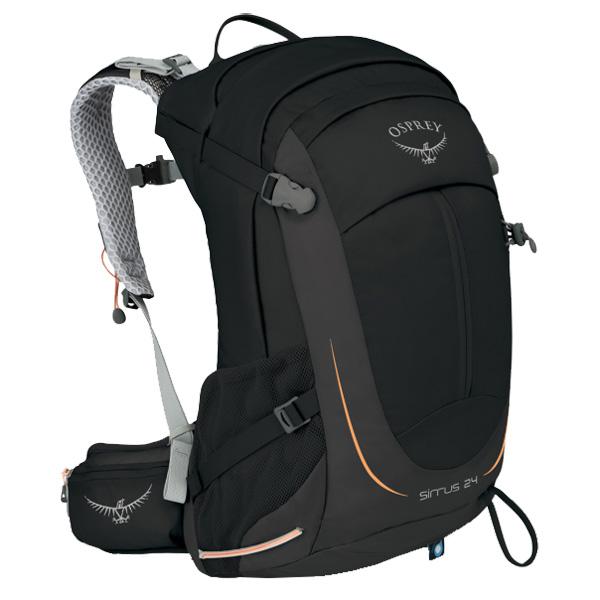 OSPREY(オスプレー) シラス 24/ブラック OS50313女性用 ブラック リュック バックパック バッグ トレッキングパック トレッキング20 アウトドアギア
