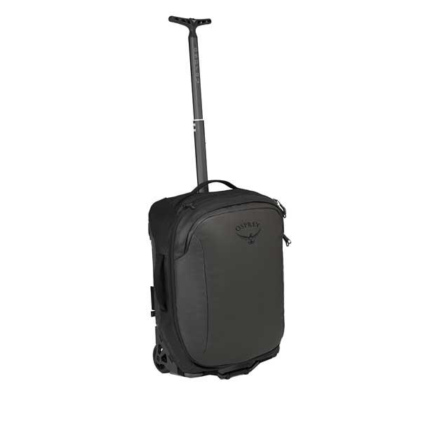 OSPREY オスプレー トランスポーター ウィールドグローバルキャリーオン/ブラック OS55131001001アウトドアギア キャスターバッグ トラベル・ビジネスバッグ スーツケース キャリーバッグ ブラック おうちキャンプ