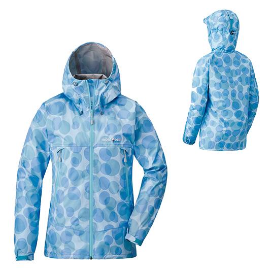 mont-bell モンベル レインダンサー ジャケット WS/FBL/M 1128578女性用 ブルー